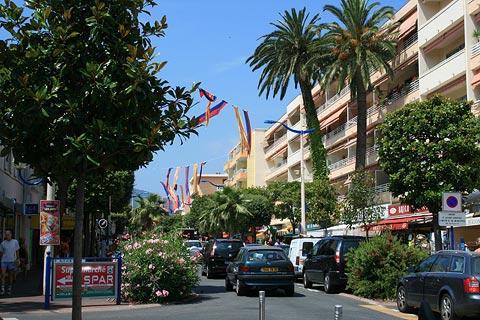 Cavalaire centre ville