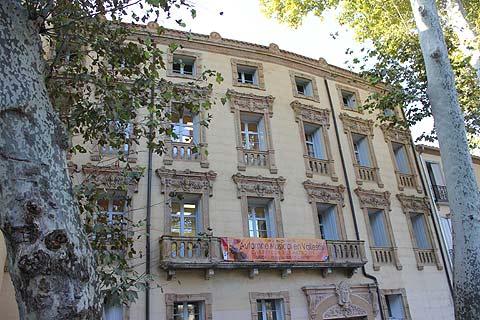 maisons du 19e siècle à Céret
