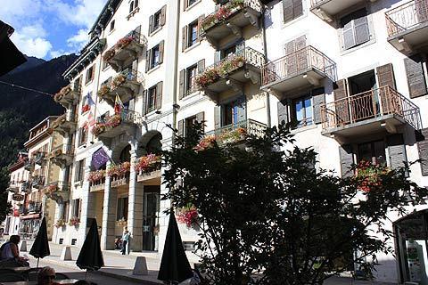Chamonix building