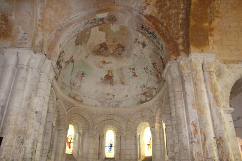 Frescos in the church