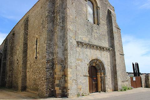 Abbaye Saint-Jean d'Orbestier à Château d'Olonne
