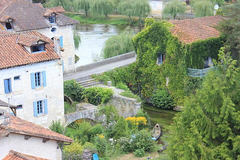 Chateau de Bourdeilles vue