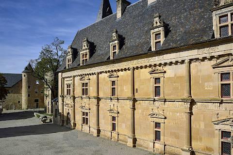 aile renaissance au château de Bournazel