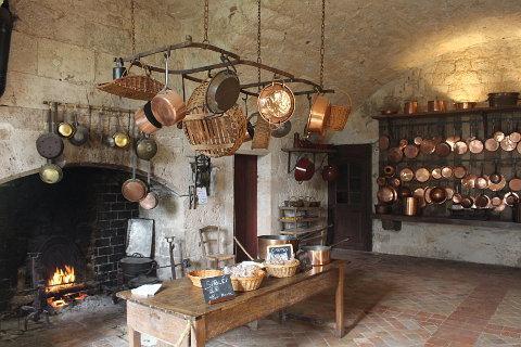 Cuisine médiévale au Château de Bridoire