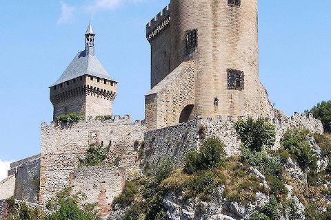 Tour sur le château de Foix