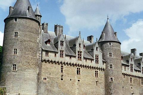 Murs extérieurs du château de Josselin