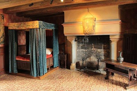Chambre traditionnelle à Château de Langeais