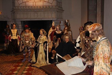 Mariage dans le château