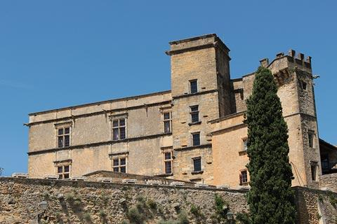 View of Chateau from Lourmarin village