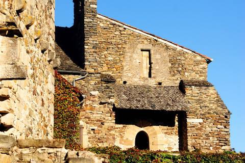 entrée au château de najac
