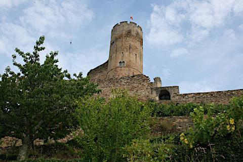 Donjon de la forteresse de Najac