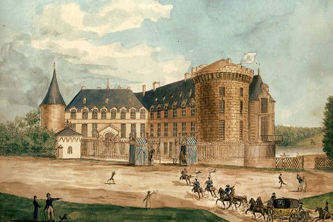 Chateau de Rambouillet in the 18th century