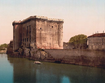 Historic photo of the Chateau de Tarascon