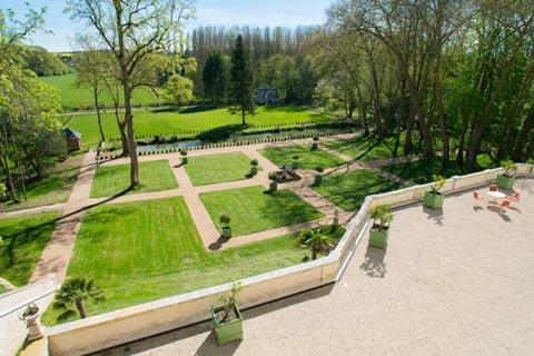 La Jardin de Roi à Chateau Gaillard