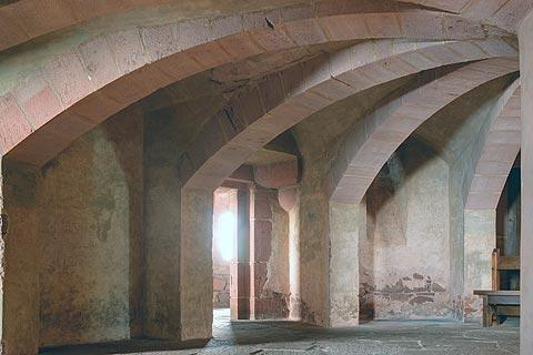 Vaults in Haut-Koenigsbourg castle