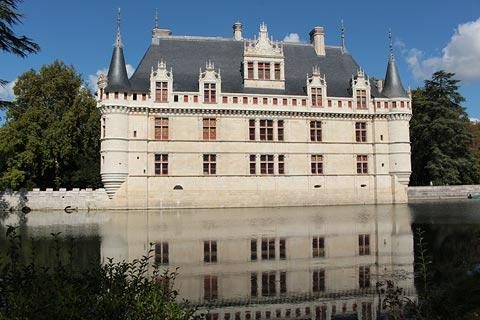 Chateau D Azay Le Rideau France Visitor Information