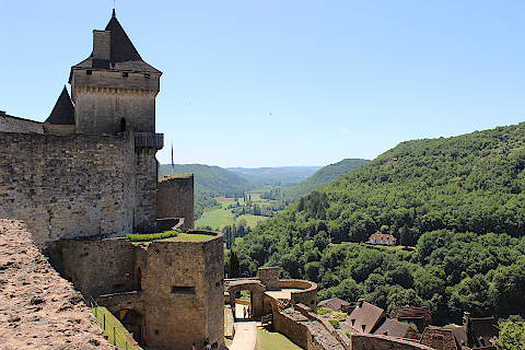 tower and view from castle