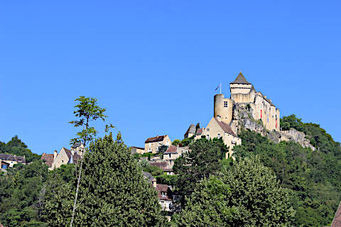 View of the castle from Castelnaud village