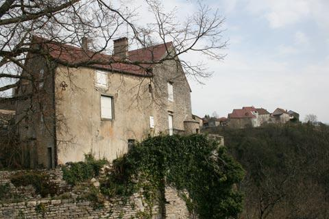 Ancient house in the centre of Chateau-Chalon