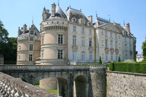 Facade of Chateau du Lude