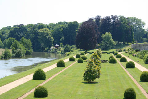 Garden of Chateau du Lude