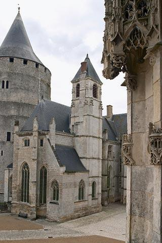 Chapel at Chateaudun castle