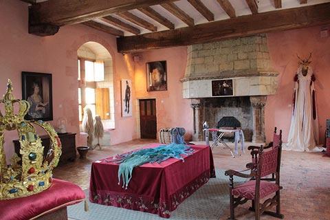 Salon du Château du Rivau