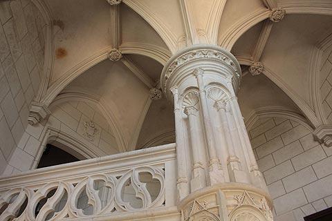 Escalier du Château de Chaumont-sur-Loire