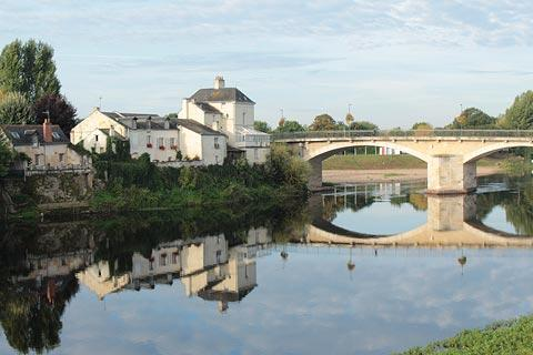 Bridge across the Loire