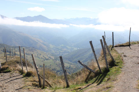 Scenery on the col d'Aspin