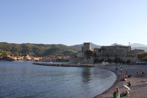 beach at Collioure, Languedoc