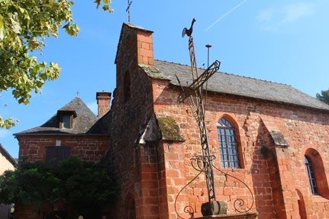 Chapel des Penitents Noirs à Collonges-la-Rouge
