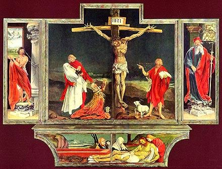 Grünewald altarpiece from the church of Issenheim now in Colmar