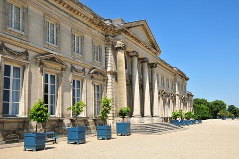 Palace in centre of Compiegne