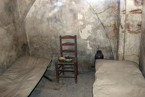 the cell of Marie-Antoinette