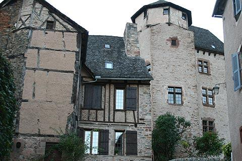 Medieval houses in Conques