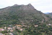 mountain-behind-village