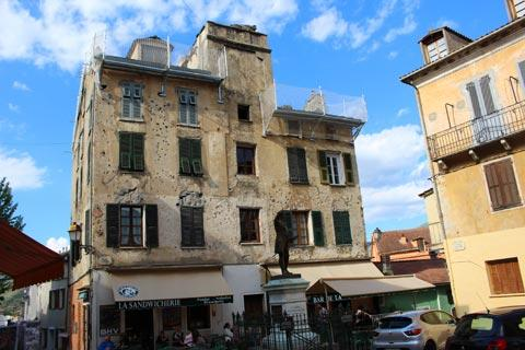 Maison Gaffory dans la vieille ville de Corte