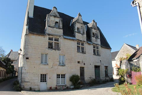 Imposing stone house in Crissay-sur-Manse