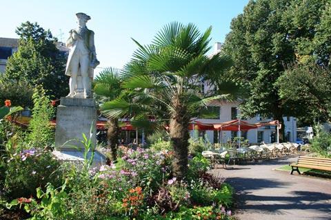 Dax jardins du centre-ville