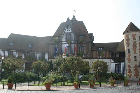 town hall in Deauville