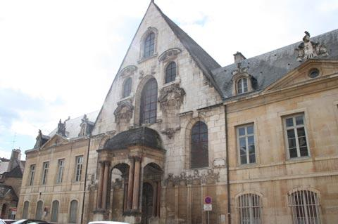 Historic street in Dijon