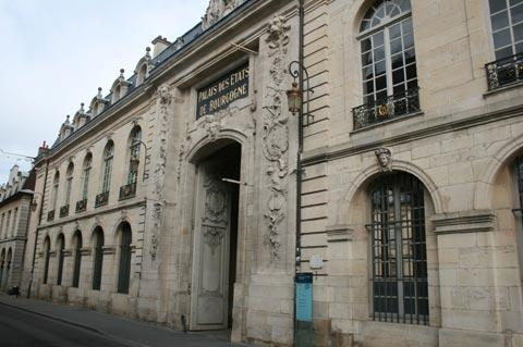 Side of the Duke's Palace in Dijon