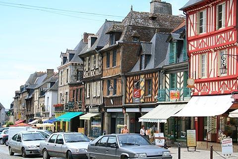 Grand Rue à Dol-de-Bretagne
