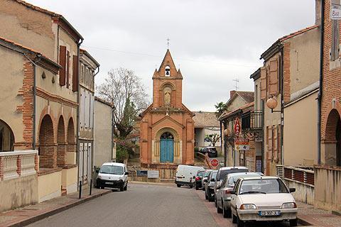petit église de Donzac