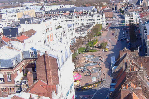 View across the town in Douai