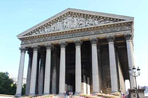 Eglise de la madeleine paris - L orangerie la madeleine ...