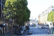 view-along-rue-royale
