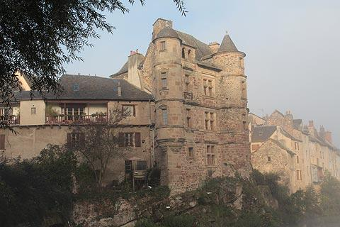 Old palace in Espalion
