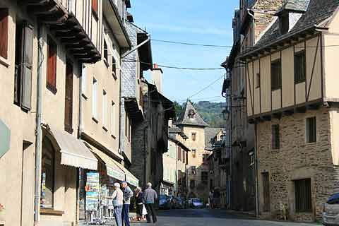 historic centre of Estaing